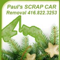 Scrap Car Removal All Weather *FREE* Towing Paul 416.822.3253